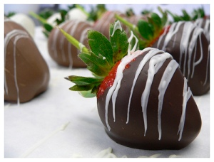 chocolate covered strawberry