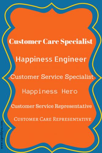 Customer Service Titles