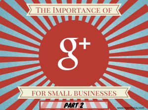 Importance of G+ Part 2