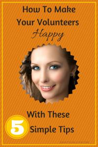 How to Make your Volunteers Happy