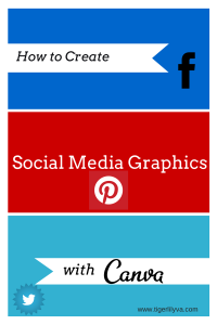 social media graphics with canva