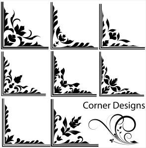 floral-corner graphics