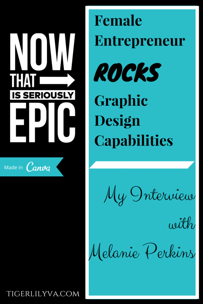 Interview with Melanie Perkins, Canva CEO/CoFounder