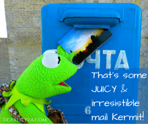Juicy mail from Kermit