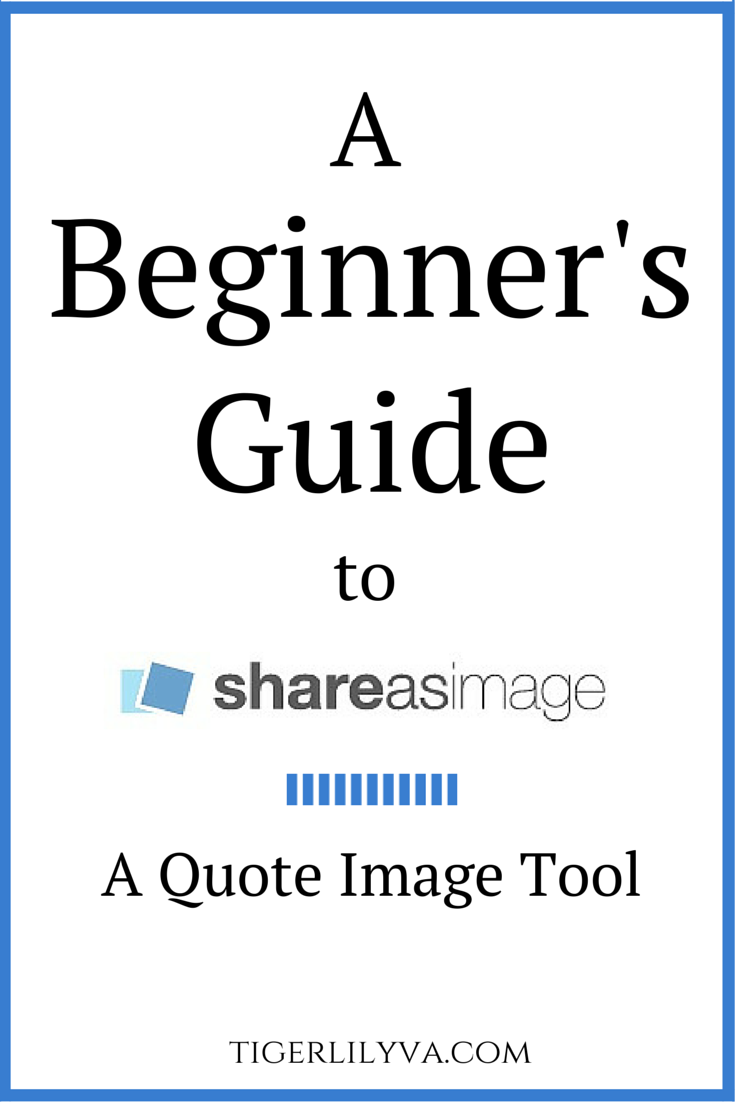 A Beginner's Guide to Share As Image.A Quote Image Tool