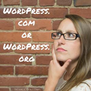 WordPress.comorWordPress.org