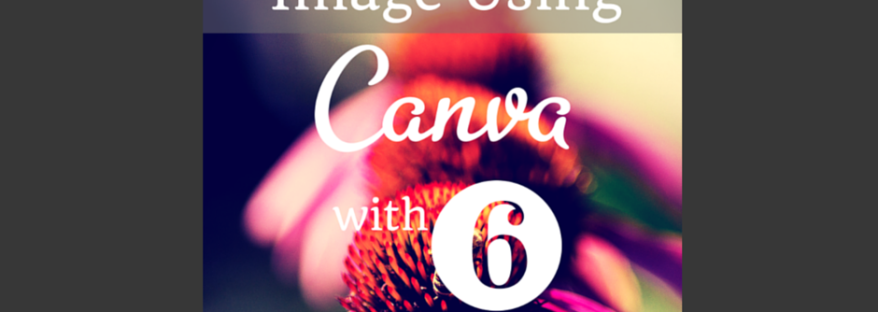 FB POST.Creating a Blog Title Image Using Canva with 6 EASY Steps For Your Brand.tigerlilya