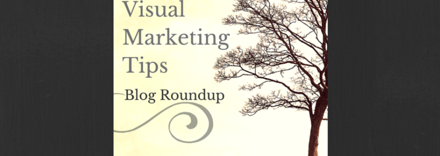 Awesome Visual Marketing Tips - Blog Roundup via tigerlilyva.com