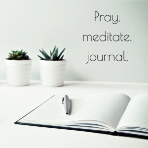 pray meditate journal